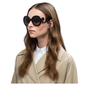 Prada Minimal Baroque Sunglasses tortoiseshell